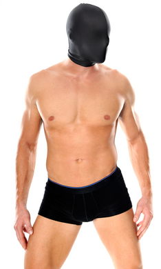 Spandex Full Face Hood	 Sex Toy Product