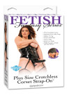 Fetish Fantasy Series Plus Size Crotchless Corset