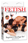 Fetish Fantasy Series Beginner's Bondage Set Black