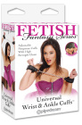 Fetish Fantasy Series Universal Wrist/Ankle Cuffs