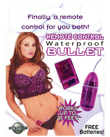 Waterproof Remote Control Bullet