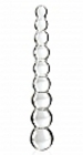 Icicles No 2 Glass Anal Beads Clear Sex Toy Product
