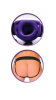 For Him Or Her Hollow Strap On Purple Sex Toy Product Image 4