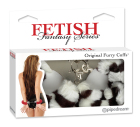 Fetish Fantasy Series Furry Love Cuffs - Zebra Sex Toy Product