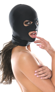 Spandex 3 Hole Hood Sex Toy Product