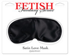 Fetish Fantasy Series Satin Love Mask Black