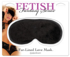 Fetish Fantasy Series Fur Lined Love Mask
