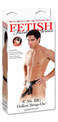 Fetish Fantasy Series Mr. Big Hollow 8&quot; Strap-on