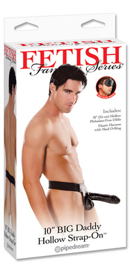 "Fetish Fantasy Series Big Daddy Hollow 10"" Strap-on"