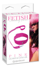 Fetish Fantasy Series Pink Leash and Collar