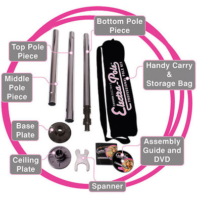 Carmen Electra Pole Dancing Kit