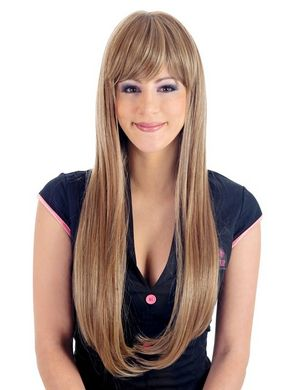 Obsession Long Silky Straw Blonde Wig