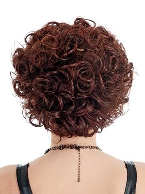 Vivid Short Layer Bob Burgundy Wig