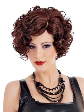 Vivid Short Layer Bob Black Wig