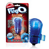 The FingO Glow - Finger-Fitting Light-Up Mini Massager - Blue