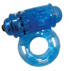 O Wow - Super-Powered Vibrating Ring With Screaming O Bullet-Assorted Colors