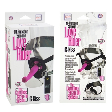 10-Function Silicone Love Rider G-Kiss - Pink