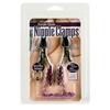 Nipple Clamps- Purple Chain with Navel Ring  Sex Toy Product Image 3