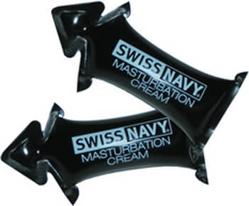Swiss Navy Masturbation Cream Pillow Pack