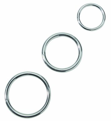 cock ring set - metal