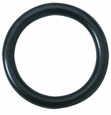 Black Steel Cock Ring 1.5in
