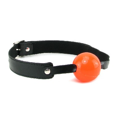 Solid Red Ball Gag Sex Toy Product