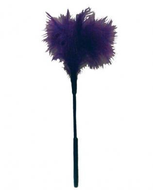 Sex & Mischief Feather Tickler 7in Purple