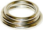 Manbound Metal C*ck Ring 3 Pack - Silver