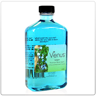 Venus Juniper Aromatic Body Wash - 8oz