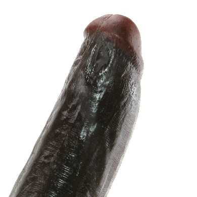 Flash Brown Signature Cock in 11 Inches