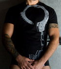 Mens Black Stockroom Handcuff Tshirt