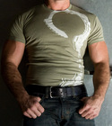Mens Green Stockroom Handcuff Tshirt