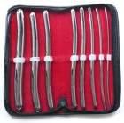 Hegar Urethral Sounds, 8 Piece