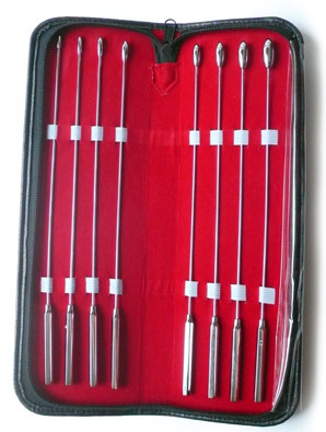 Rosebud Urethral Sounds Kit, 8 Piece