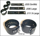 Wrist Cuffs w/ D-Ring, Small/Medium
