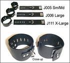 Wrist Cuffs w/ D-Ring, Large