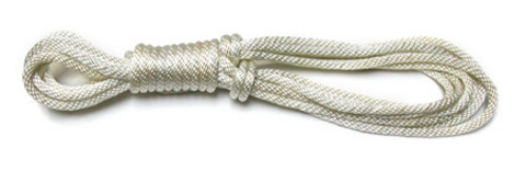 Nylon Rope 25-ft, White