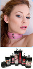 KinkLab Pink Bound Leather Collar