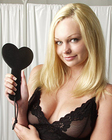 KinkLab Heart-Shaped Spanking Paddle