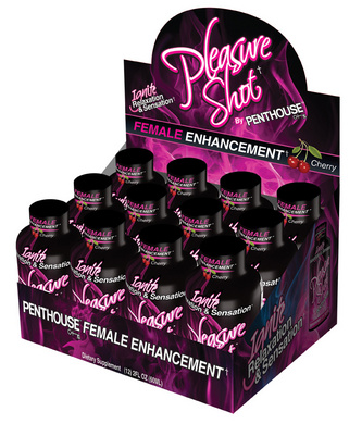 Pleasure Shot By: Penthouse (12 Pack)