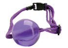 Japanese Silk Love Rope Ball Gag Purple Sex Toy Product
