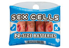 Sex Cells N-Size Batteries, 4 Pack