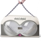 Doki Doki Breast Massager, White Sex Toy Product