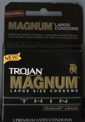 Trojan Magnum Thin 3 Pack