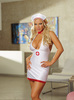 Red Diamond Bedroom Nurse White