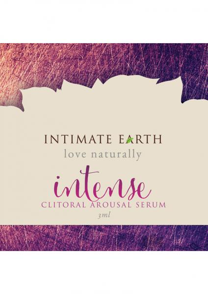 Intimate Earth Intense Clitoral Pleasure .1oz Foil Sex Toy Product