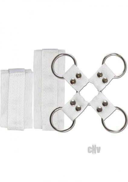 Lovers Bondage Kit White Hog Tie Sex Toy Product