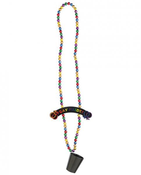 Rainbow Pride Beads w/ Shot