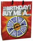 It's My Birthday Buy Me A Shot Spinner Gift Bag