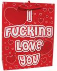 I F-cking Love You Gift Bag Sex Toy Product